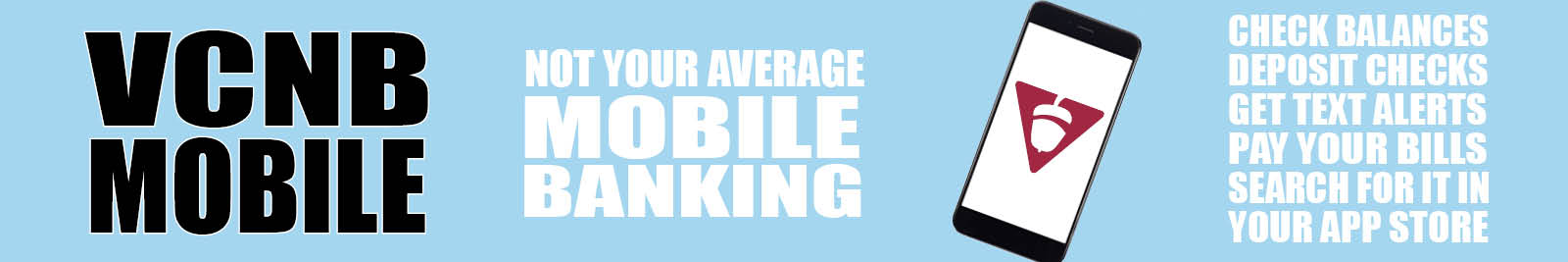 Not Your Average Mobile Banking