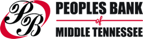 PEOPLES	BANK OF	MIDDLE TENNESSEE